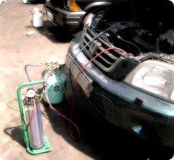 Дозаправка авто кондиционера