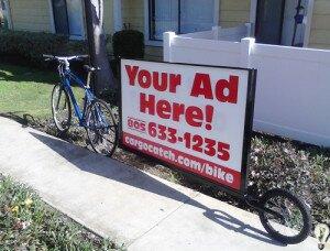 Бизнес идеи, реклама на колесах