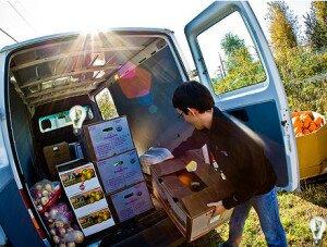 Бизнес идеи, доставка фруктов и овощей
